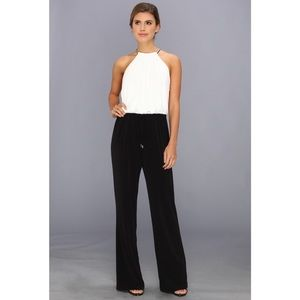 Vince Camuto Black & White Jumpsuit